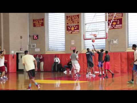 Clive Allen Class of 2016 Workouts at Cardinal Hayes H. S.