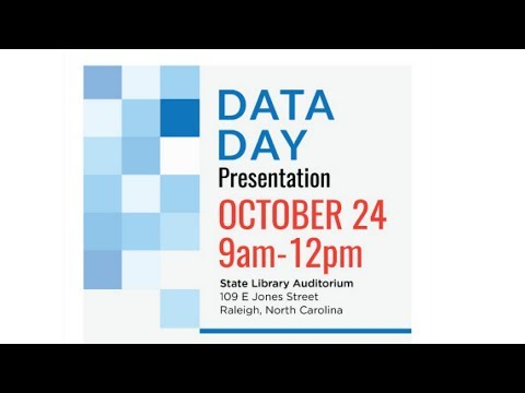 Data Day at the State Library of North Carolina - YouTube