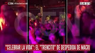 Macri de Fiesta mientras el país se hunde