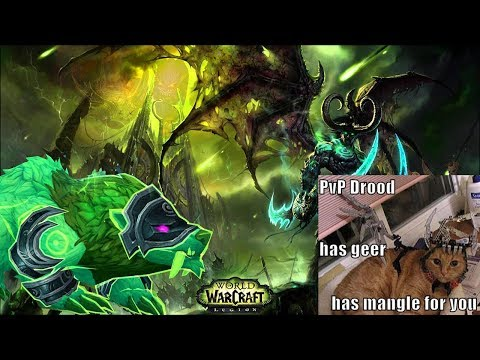 World of Warcraft - Guardian Druid Battleground PvP