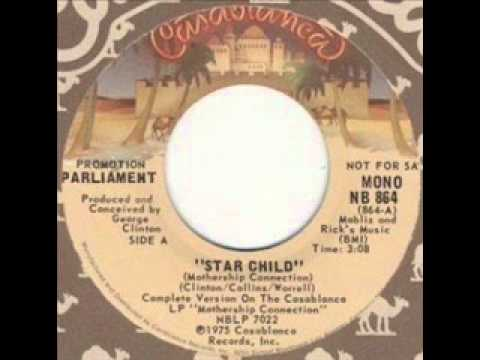 Parliament - Star Child Mothership Connection (Rare Radio Ve