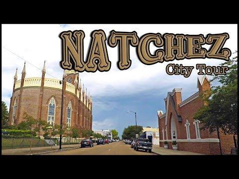 NATCHEZ MISSISSIPPI DOWNTOWN TOUR