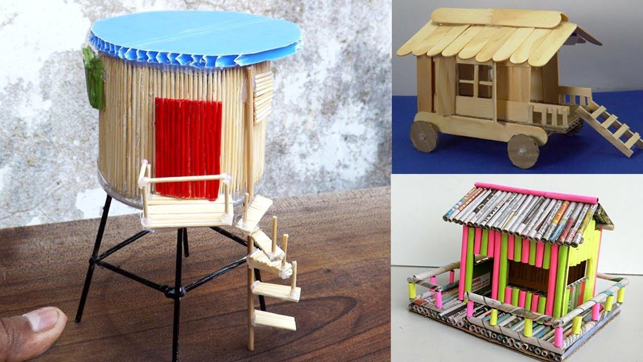 4 Easy Handmade Miniature Fairy House #27   DIY U0026 Crafts For Teens