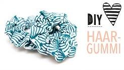 Haargummi selber machen   Kleines Zopfgummi für Mädchen nähen   DIY MODE Nähanleitung für Anfänger