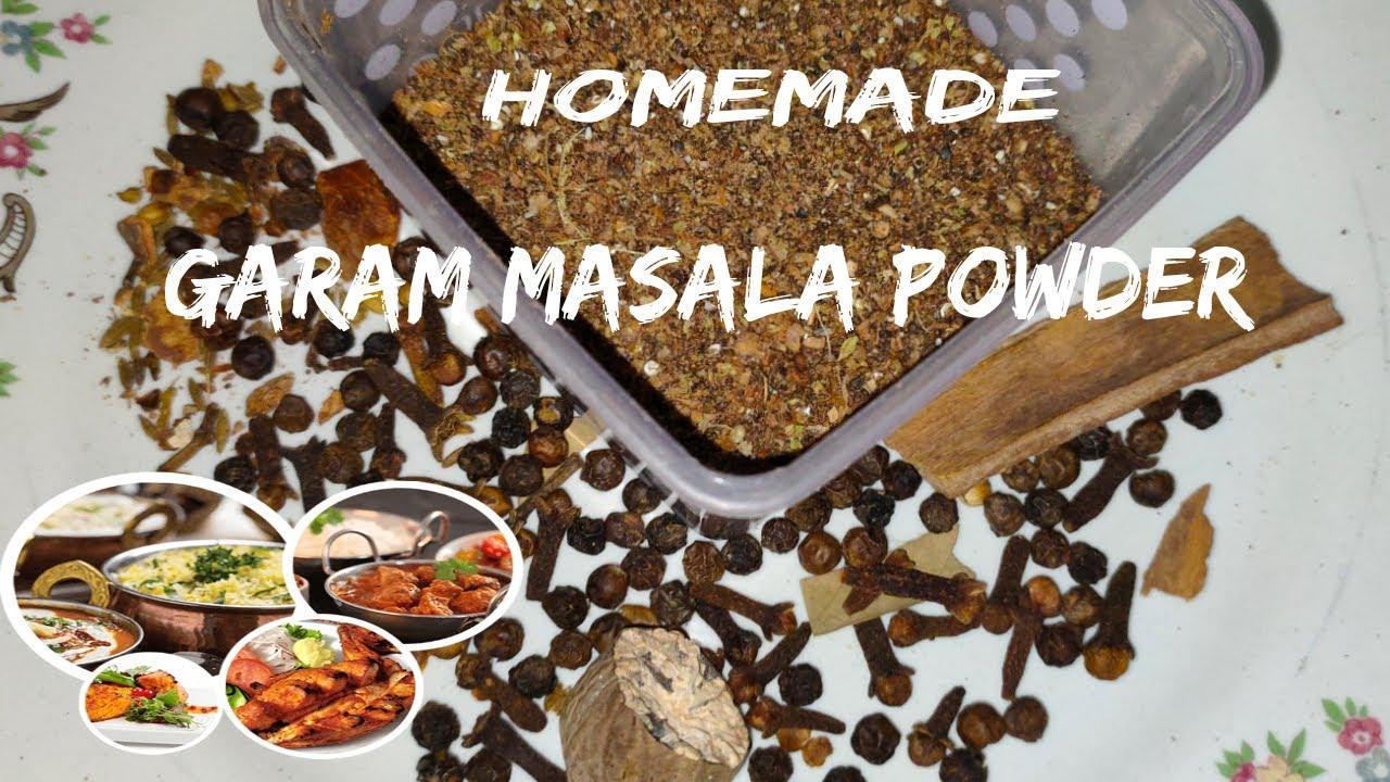 homemade garam masala powder eram's kitchen simple garam