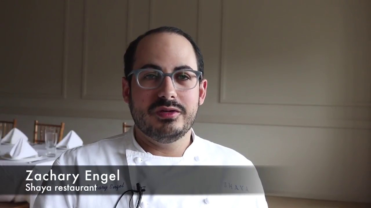Meet Zachary Engel, chef de cuisine at Shaya - YouTube