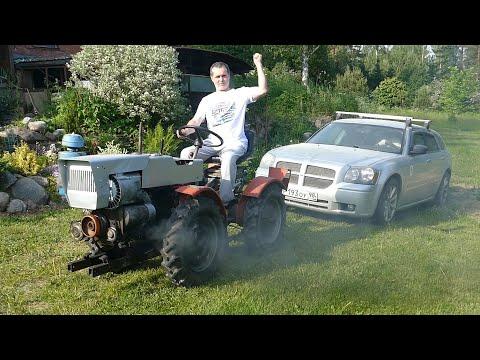 Мини-Трактор спасает Dodge. Что случилось с Акпп?