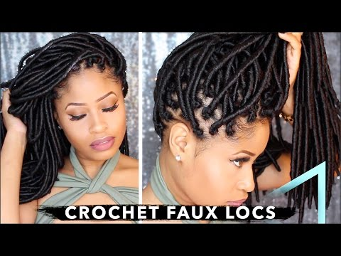 , Crochet Faux Locs are Very Easy to Install-Let me show you!