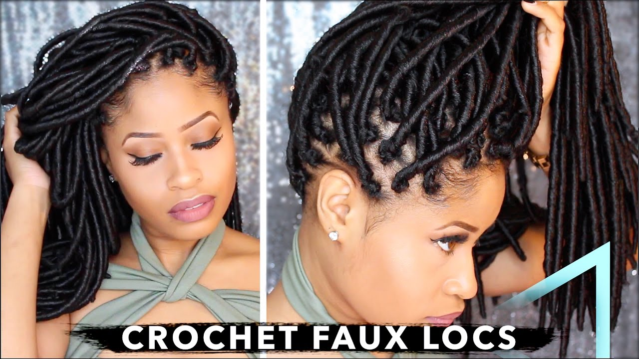 How to crochet faux locs no cornrows no wrapping free how to crochet faux locs no cornrows no wrapping free parting youtube solutioingenieria Choice Image