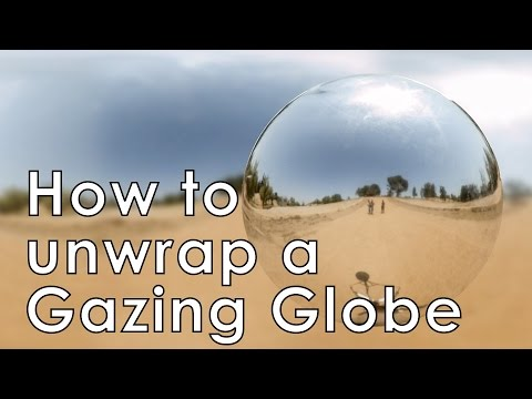 Tutorial: Environment Map using a Gazing Globe