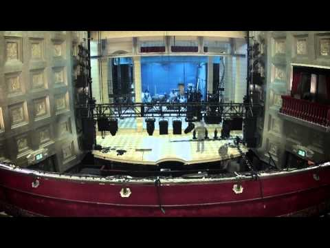 Dirty Rotten Scoundrels the Musical - Building the set at the Savoy Theatre