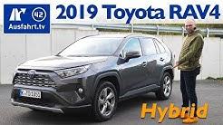 2019 Toyota RAV4 Hybrid 2.5l Hybrid AWD-i Lounge - Kaufberatung, Test deutsch, Review, Fahrbericht