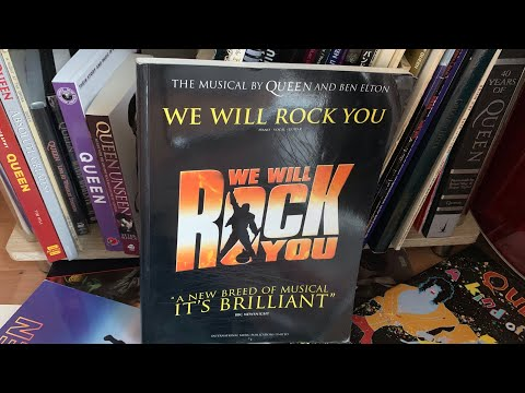 Queen We Will Rock You Musical Score Songbook