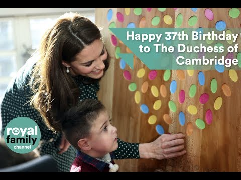 The Duchess of Cambridge celebrates her 37th birthday today!