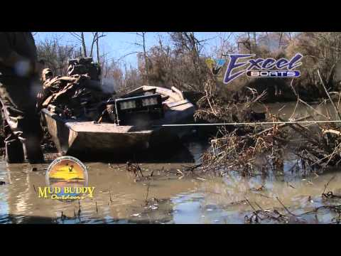Raising A Little Hell In the Mud Buddy & Excel Boat