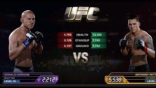 UFC EA Sports Boxing Donald Cerrone VS Anthony Pettis Gameplay