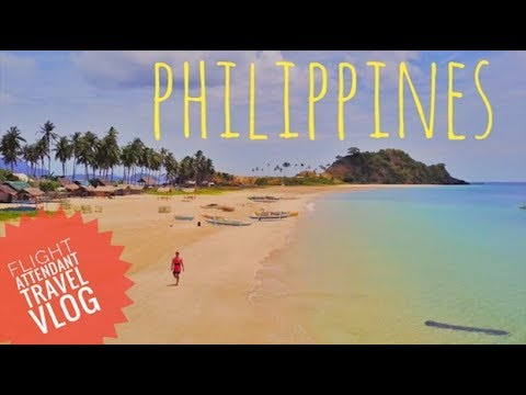 PHILIPPINES (Part 1) / Flight Attendant Travel Vlog / Drone Footage