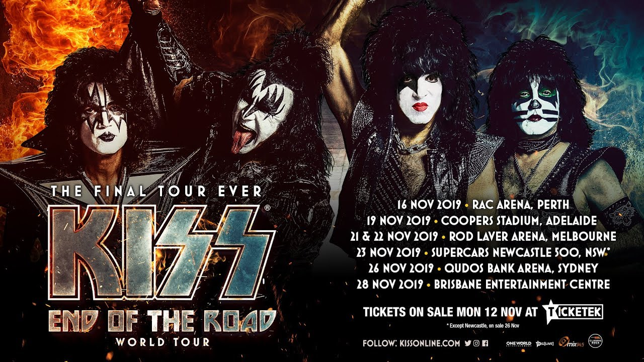 1631c948d Rock Icons KISS announce their final ever Australian Tour - Silver Tiger  Media