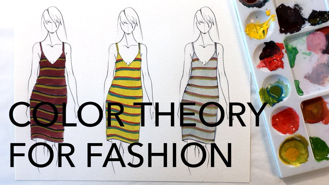 Color Theory For Fashion Split Complementary Schemes