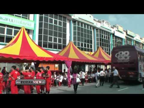 霹雳遊 马来西亚长生学总会所终落成约千名各地学员前来见证开幕