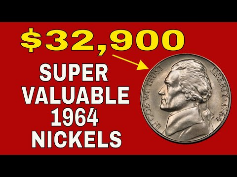 Super Rare 1964 Jefferson Nickels Worth Huge Money! Valuable Nickels To Look For!