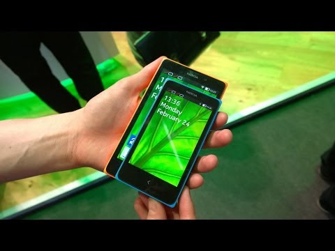 Nokia X vs Nokia XL -- Size Comparison
