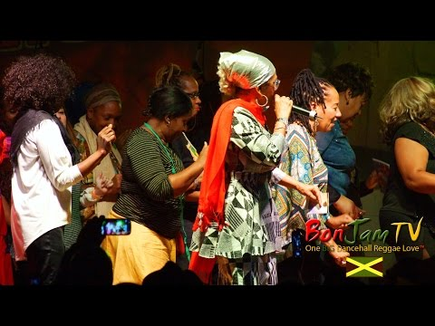 Marcia Griffiths Performing 'Electric Boogie' aka 'The Electric Slide'
