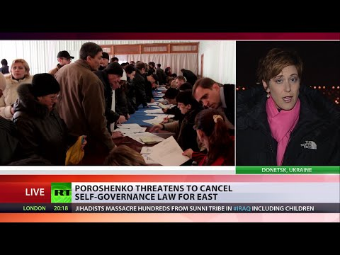 E. Ukraine elections: Vote sparks harsh reaction from Kiev