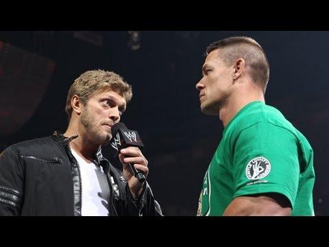 Edge returns to Raw to give John Cena advice: Raw, April 23, 2012