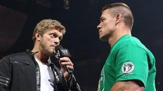 Edge returns to Raw to give John Cena advice: Raw, April 23, 2012