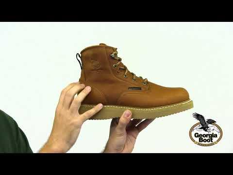 Georgia Boot Wedge Waterproof Work Boot Style# - GB00133