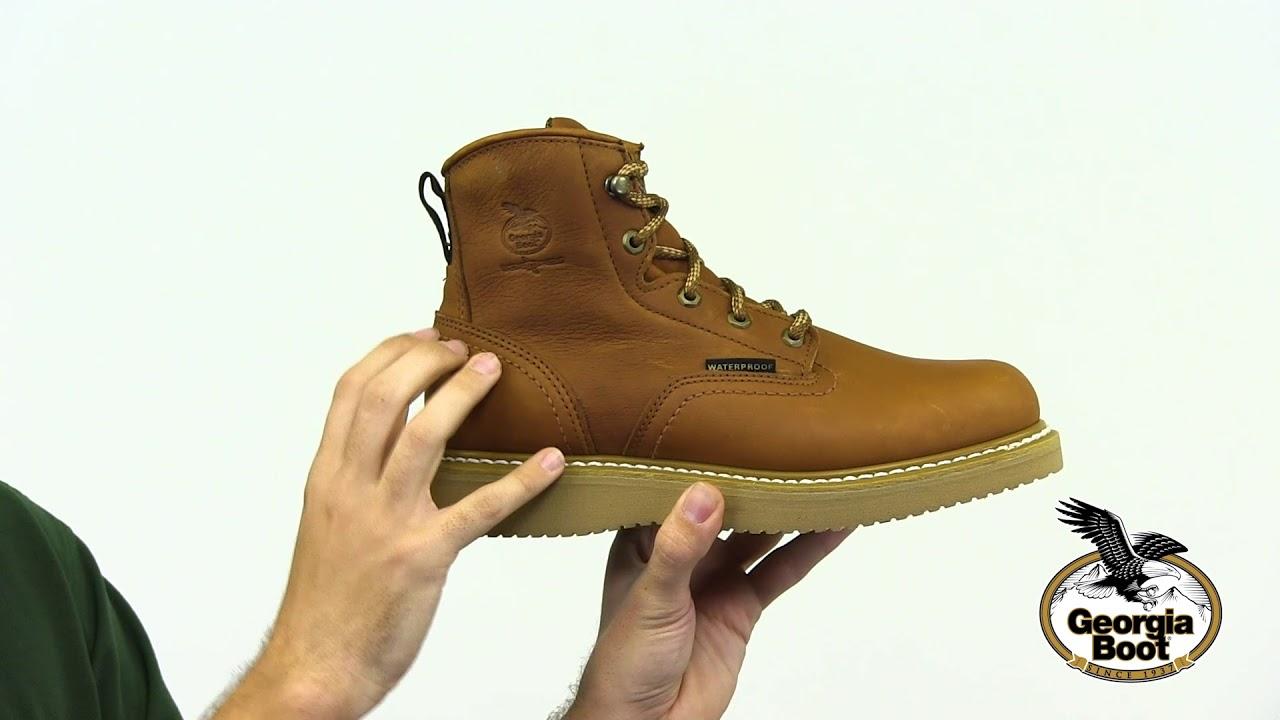Georgia Boot Wedge Waterproof Work Boot