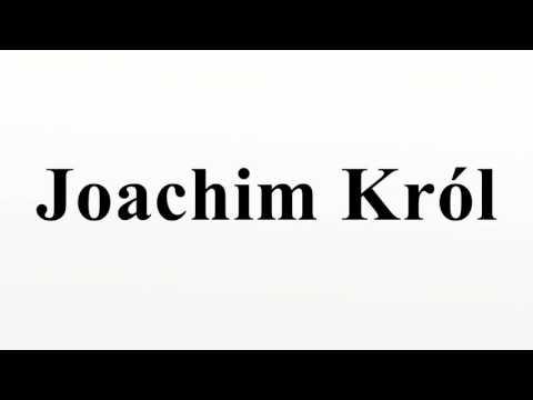 Joachim Król