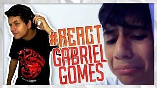 REACTION!!! #RESPONDAGABRIEL14 ENTRANDO DE BICICLETA NO SUPERMERCADO! (Gabriel Gomes)