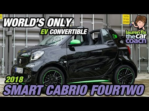 World S Only Ev Convertible 2018 Smart Cabrio Fourtwo Car Coach Reports