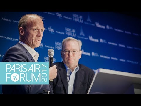 PARIS AIR FORUM | Master Class Tom Enders (Airbus Group) - Eric Schmidt (Alphabet - Google)