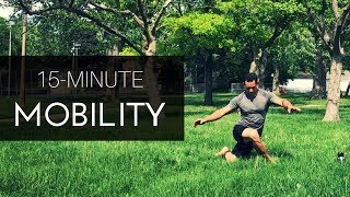 EXERC S NG  SNT ENOUGH. FREE YOUR MOVEMENT 15 minute Mobility Practice