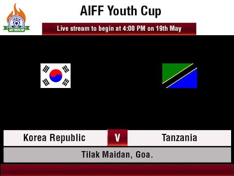 #AIFFYouthCup - Korea Republic vs Tanzania