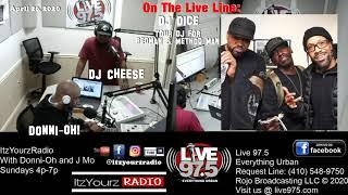 ItzYourzRadio   DJ Dice (Red & Meth Tour DJ)