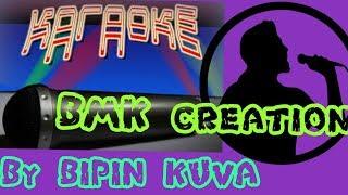 Jaise Suraj Ki Garmi se karaoke bollywood by BMK creation