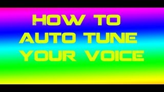 How to AutoTune your voice With Astro A40s on Xbox Ps3 or Pc