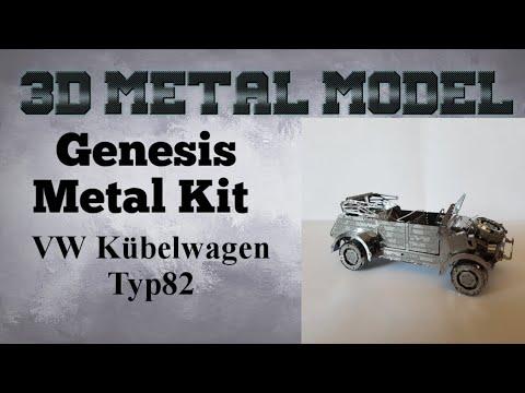 Genesis Metal Model Build - VW82 Kübelwagen