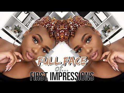 A FULL FACE OF FIRST IMPRESSIONS!   Cynthia Gwebu