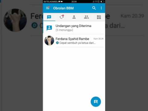 Tutorial Mengembalikan Chat Bbm Yang Sudah Terhapus
