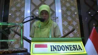 Video QORIAH TERBAIK I MTQ INTERNASIONAL 2014 INDONESIA [HJ  MIFTAHUL JANNAH] download MP3, 3GP, MP4, WEBM, AVI, FLV Agustus 2018