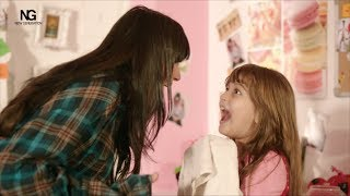مشهد تحول ساندي من فيلم خطة جيمي - Sandy and Jana beauty secret