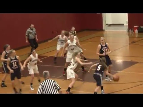 NCCS - AuSable Valley Girls  1-11-16