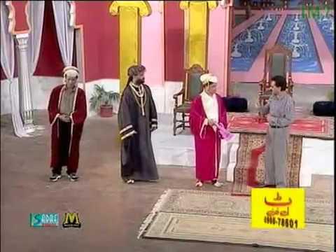 Umer Sharif And Sikandar Sanam - Akbar E Azam_clip9 - Pakistani Comedy Stage Drama