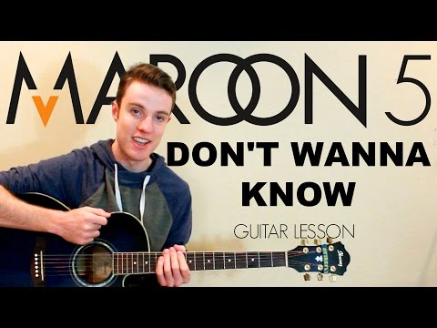 Maroon 5 - Don't Wanna Know | Easy Guitar...