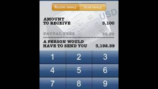 Quickstart - PayPal Fee Calculator (great companion to New PayPal and eBay native iPhone App)